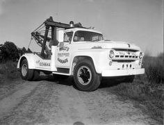 1957 Ford F-8 Super Duty Dually Tow Truck