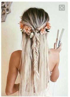 beachy boho hair inspo
