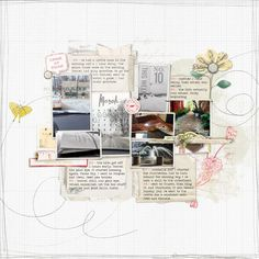 Project Life 2015 week 10 by anke at @studio_calico ALso good for month in review year in review