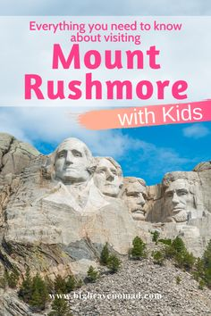 Everything You Need to Know for the Perfect trip to Mt Rushmore with Kids — Big Brave Nomad Family Vacation Destinations, Top Destinations, Vacation Trips, Vacation Spots, Family Vacations, Greece Vacation, Cruise Vacation, Vacation Ideas, Travel With Kids
