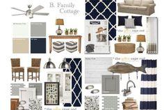 Family Lake Cottage Design Plan