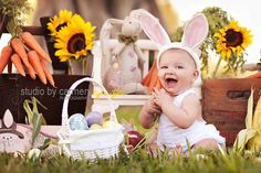 Easter Egg Hunt photos by StudioByCarmen #Babies #Photos #Easter