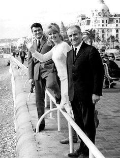1965 - Jean Marais Michelle Demongeot, Louis de Funes Negresco - Nice