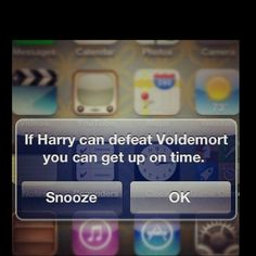 I should put this on my iPhone- I hit snooze like 4 times this morning...