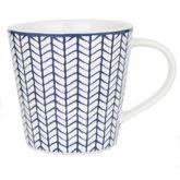 Sainsbury's Indigo Herringbone Mug | Sainsbury's