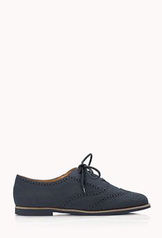 Faux Leather Brogues | FOREVER21 - 2060365876