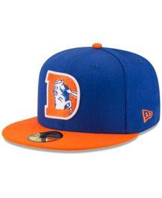 New Era Denver Broncos Team Basic 59FIFTY Fitted Cap - Blue 7