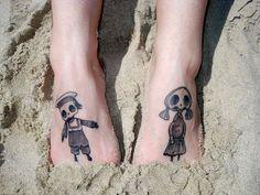 Skeleton Girl & Boy from Corpse Bride!