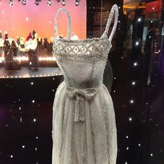 Beaded dress made by #dior for #audreyhepburn 1959