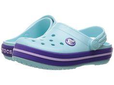 Crocs Kids Crocband Clog (Toddler/Little Kid) Fancy Shoes, Me Too Shoes, Crocs Shoes Women, Girls Clogs, Toddler Crocs, Clogs Outfit, Crocs Crocband, Fancy Dress For Kids, Baby Shower Decorations For Boys