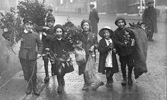 старый Лондон под Рождество