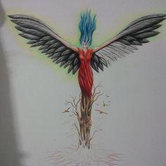 Oylesine bir melek çizimi