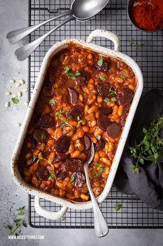 Cassoulet mit weissen Bohnen und Chorizo Rezept von D. Schimkowitsch
