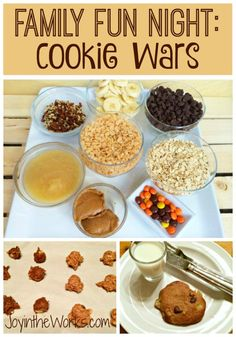 Family Cookie Wars – Joy in the Works Looking for something different to do as a family? Instead of another night of video games or boring board games, try this simple Family Cookie Wars! Everyone will love it and you get a sweet treat as a bonus! Family Games, Family Activities, Family Family, Summer Activities, Family Bonding, Group Games, Indoor Activities, Therapy Activities, Toddler Activities