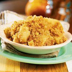 Crockpot Apple Brown Betty