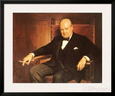 Sir Winston Churchill Prints by Arthur Pan at AllPosters.com