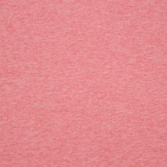 Heather Brick Pink Solid Cotton Spandex Knit Fabric - A Girl Charlee designer overstock score!  A top quality medium weight cotton spandex knit in a pretty heather red pink color.  True medium weight with a smooth, soft hand, good 4 way stretch, and nice recovery.  ::  $7.50