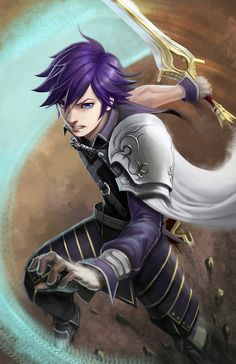 +Chrom+ - Fire Emblem: Awakening by Orenji-kun.deviantart.com on @deviantART CHROM.