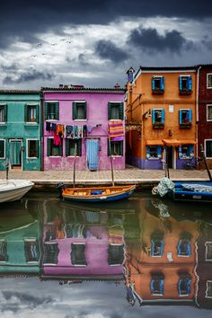 WATERWAY COLORS rev 2 - Burano - Venice - Italy