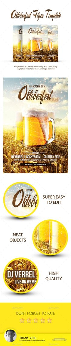 Oktoberfest Flyer Template PSD | Buy and Download: http://graphicriver.net/item/oktoberfest-flyer/9018935?WT.ac=category_thumb&WT.z_author=borneafandri&ref=ksioks