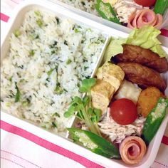 Twitter from @mey_candy おはよう(^-^)/ #obentoart #obento #弁当 #lunch
