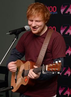 And when he smiled as he looked down at his guitar while singing a beautiful song. | 21 Times Ed Sheeran Was So Unbelievably Cute We Almost Couldn't Take It
