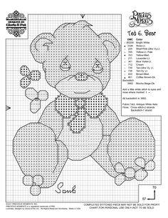 Simple Cross Stitch Patterns Free | Gloria and Pat Free Sample Cross Stitch Printable Pattern Precious ...