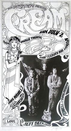 Cream with the Jeff Beck Group and John Mayall's Bluesbreakers (July 2.1967 at Saville Theatre