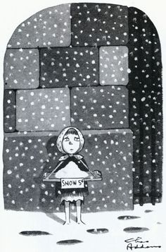 Snow by Charles Addams The New Yorker 1974 via liquidnight New Yorker Cartoons, Addams Family Cartoon, Cartoon Familie, Charles Addams, Autumnal Equinox, Cartoon Books, Kids Shows, The New Yorker, Vintage Halloween