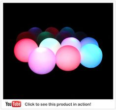 fun for an event with a pool glow in the dark sticks in balloons.