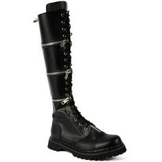 REVOLVER-1 Zip-Off Boots - Gothic boots