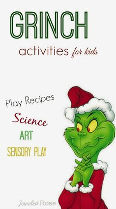 Creative & FUN Grinch Activities for Kids