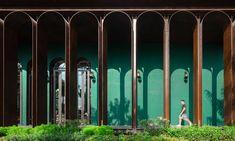 La Habana Sale Gallery by Openbox Architects Colonial Architecture, Concept Architecture, Facade Architecture, Classical Architecture, Havana City, Steel Trusses, Concrete Structure, Behance, Eclectic Design