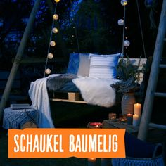 So you build your Hollywood swing yourself! Create your own hanging swing to enjoy relaxing summer evenings in the garden. Our swing Baumelig i build diyeasy diygeschenke diyjewelry diyvideos hollywood swing yourself Pallet Patio Furniture, Garden Furniture, Diy Furniture, Porch Swing, Garden Projects, Diy Home Decor, Diy Inspiration, Outdoor Decor, Wooden Pallets