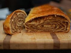 Find out the difference between potica and povitica, the yeast-raised Slovenian and Croatian rolled pastries that can have a sweet or savory filling. Croatian Cuisine, Croatian Recipes, Ukrainian Recipes, Potica Recipe Slovenia, Povitica Recipe, Nut Roll Recipe, Slovenian Food, Strudel Recipes, Signs