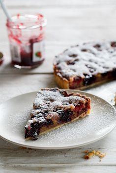 Raspberry Frangipane Tart - Simply Delicious— Simply Delicious