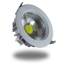 DOWNLIGHT 10W LED COB 760Im NW 4500K 135mm http://www.ledandcolors.com/recessed-downlight/recessed-downlight-10w-4500k-104.html  Ficha técnica  Potencia - 10 W  Intensidad de la luz (Lumen) - 760 lm  Temperatura Color (Kelvin) - 4500 K  Driver incluido - Si  CRI - mayor que 85  Marca LED - Epistar  Tipo LED - COB  Voltaje (V) - 230 V  Protección IP - IP20  Clase Eficiencia Energética - A+