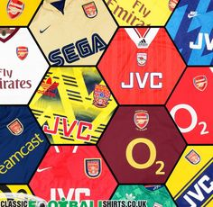 Arsenal sponsors through the years Fifa Football, Arsenal Football, Football Kits, Arsenal Players, Arsenal Fc, Arsenal Wallpapers, Arsenal Jersey, Arsene Wenger, Fifa 20