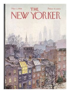 New Yorker Cover - March 2, 1968