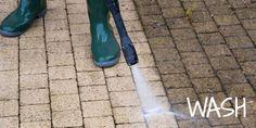 Pressure Wash Your Driveway and Sidewalks