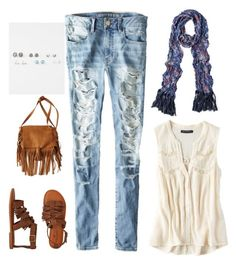 """""""free spirit"""" by cayleemay on Polyvore featuring American Eagle Outfitters and Full Tilt"""