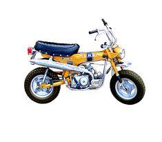Honda trail 70 gold lg