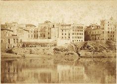 Lungotevere dei Vallati (1870 ca) | Roma Ieri Oggi Old Photos, Rome, History, Painting, Antique, Retro, Italia, Photos, Old Pictures