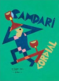 CAMPARI CORDIAL Advertising Slogans, Vintage Advertising Posters, Food Advertising, Vintage Advertisements, Luhan, Retro Ads, Retro Vintage, Vintage Italian Posters, Art Deco Illustration