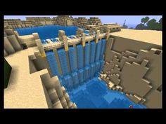 Minecraft piston Dam