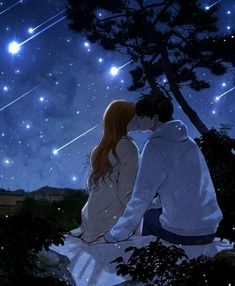 Kiss me under the stars • 口づけは私星の下へ