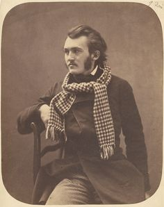 The young painter Gustave Doré, captured by Nadar in the 1850s. His hair is tousled, as if blown by the wind; his leg steps forward as he embraces his new-found celebrity status in Paris. And most...