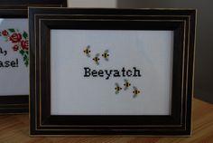 Beeyatch by beachedlibrarian, via Flickr