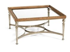 Flexsteel Living Room Square Cocktail Table