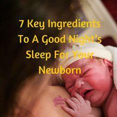 How to help your baby get on a sleep schedule. #newborn #sleepschedule